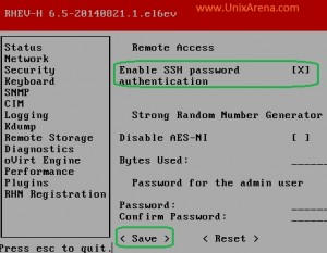 Enabling the remote ssh