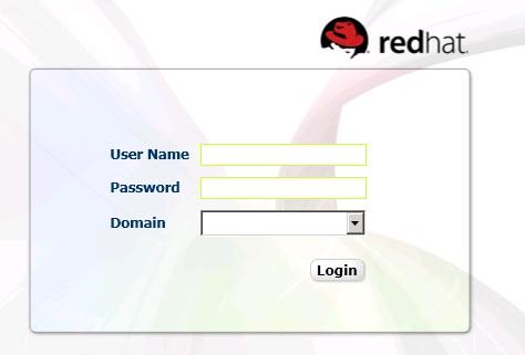 RHEV-M login