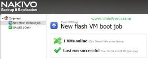 VM recovereed