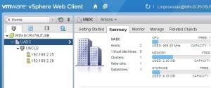 VMware vSphere - Hosts & clusters