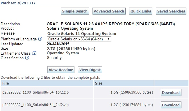 How to update Oracle Solaris 11 2 - SRU - UnixArena