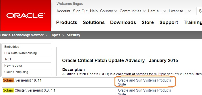 Oracle 11gr2 installation guide solaris 11 patching