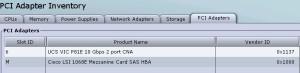 CIMC- PCI Adapters