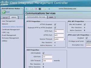 UCS CIMC Communication services