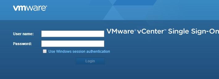 vSphere Web-Client URL