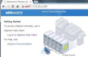 VMware VCSA - Home