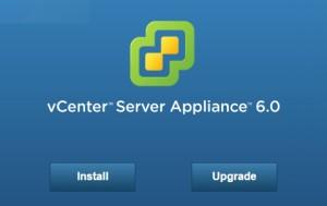 vCenter Server Appliance 6.0 Deploy
