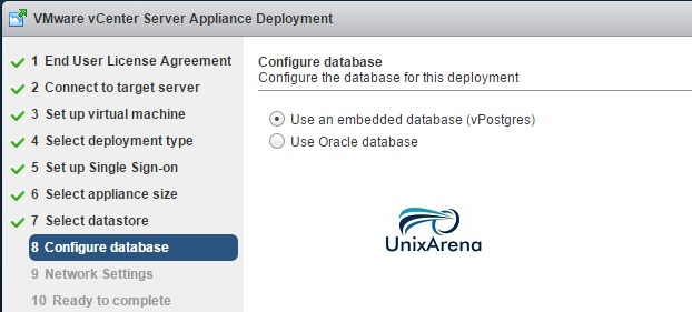 vCenter Server Appliance 6.0 Deploy 10
