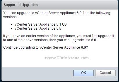 VCSA - Upgrade