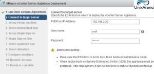 vCenter Server Appliance 6.0 Deploy 44