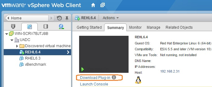 Unable to upload files using vSphere Web client - UnixArena
