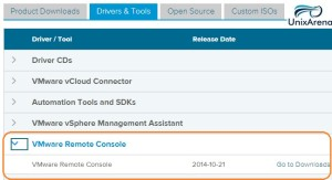 Download From VMware
