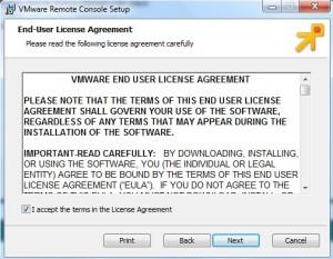 Accept the License