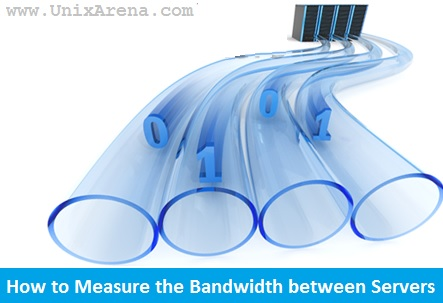 How to Measure the bandwidth between Linux / Solaris hosts