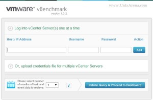 vBenchmark - Home page