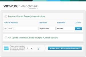 Enter the vCenter IP/Credentails
