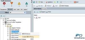 Create BIOS policy