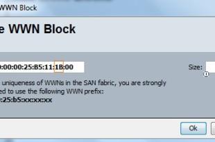 Create WWPN pool  - Fabric B