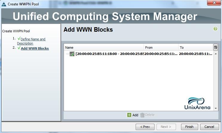 Create WWPN pool