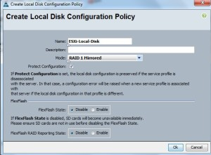 Local Disk Policy