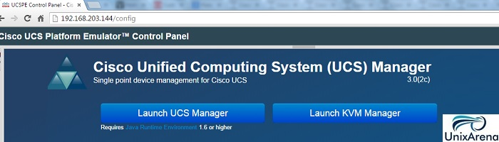 Setup the Cisco UCS environment and configure the UCS