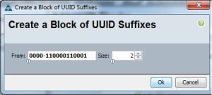 create UUID Pool