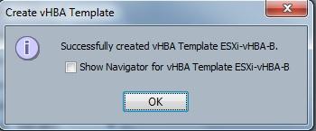 vHBA template