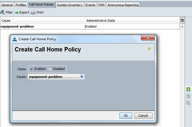 Call Home Policy