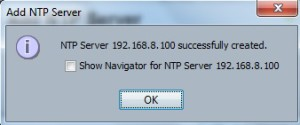 NTP on Cisco UCS