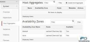Host Aggregates