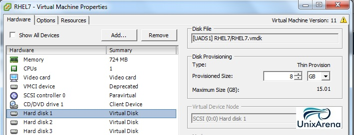 VM Disk 1