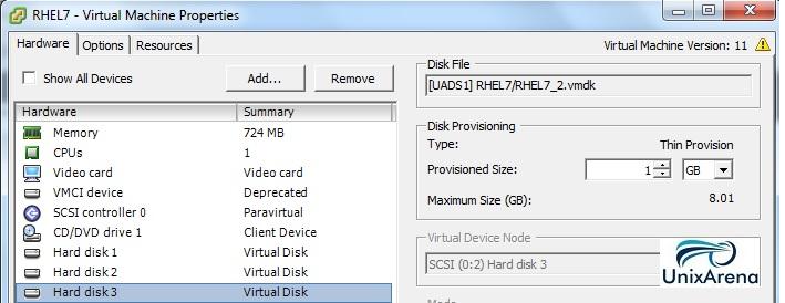 VM Disk 3
