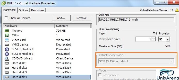VM Disk 4