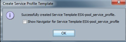 Create Service Profile Template - UCS