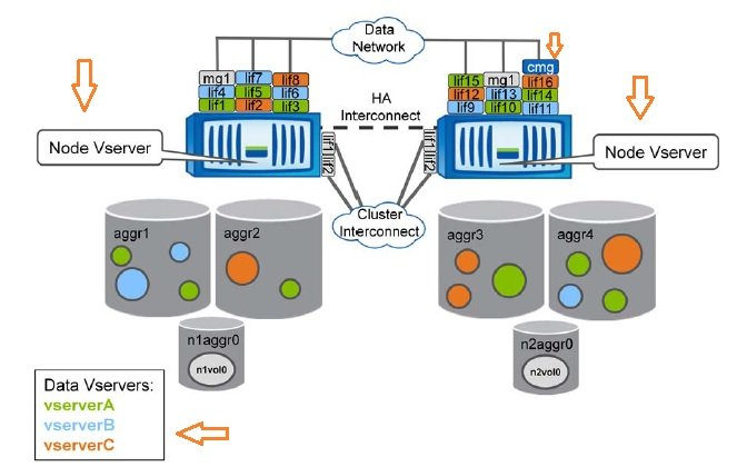 NetApp Clustered Data ONTAP