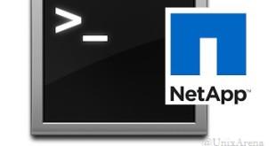 netapp shell