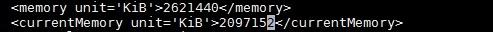 Edit VM Memory - KVM