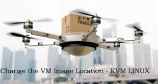 Libvirt Image location - KVM