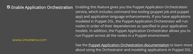 Enable Application Orchestration