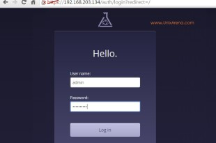 Login Page - Puppet