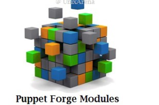 Puppet Forge Modules