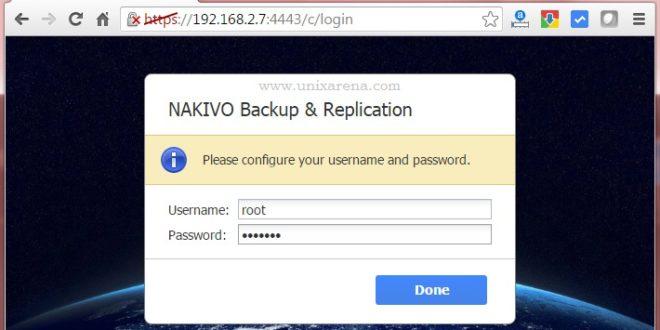 Post Deployment - NAKIVO Backup & Replication V6 for VMware - Part 2 ...