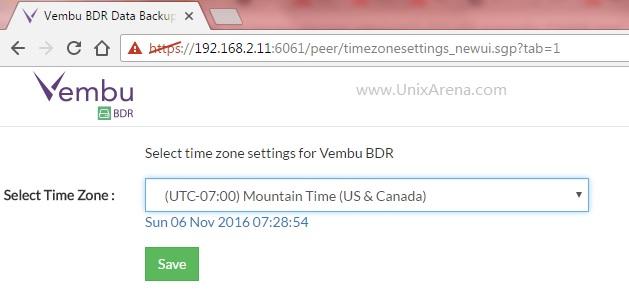 select-timezone-vembu-bdr