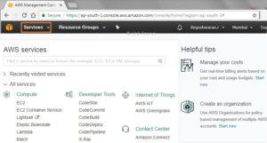 AWS Management Console