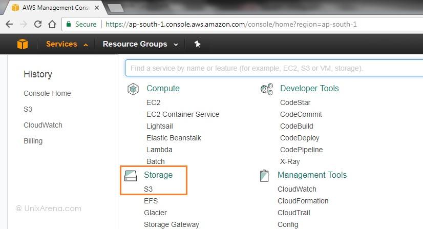 AWS - S3 Storage Management