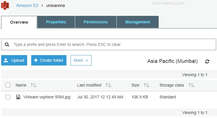 File Uploaded Successfully - S3 AWS