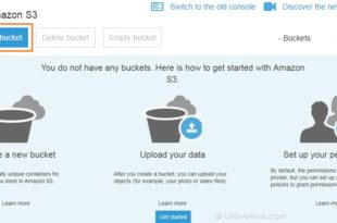 AWS S3 - Create new Storage Bucket