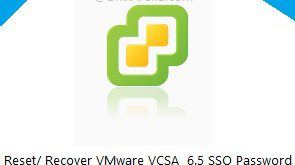 Reset Recover VMware vCSA 6.5 SSO password