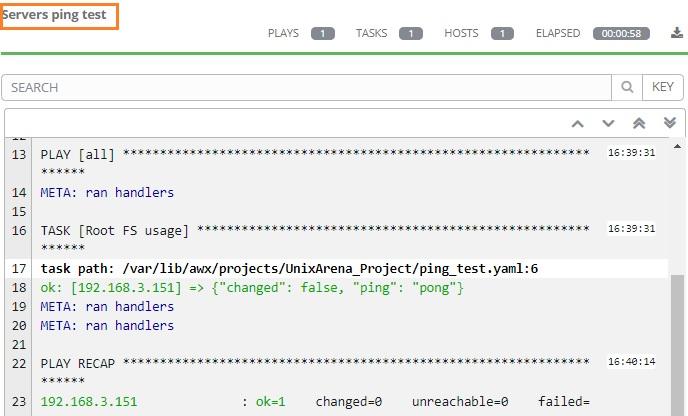 Ansible Tower / AWX – Creating Workflow Template - UnixArena