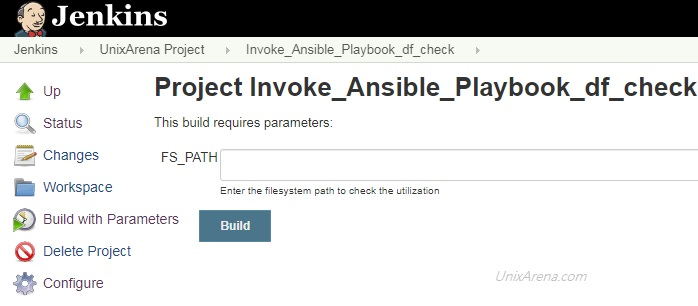 Jenkins - Passing Extra variables for Ansible Playbook